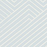Elizabeth Ockford Revelin Seafoam / White Wallpaper - Product code: WP0110102