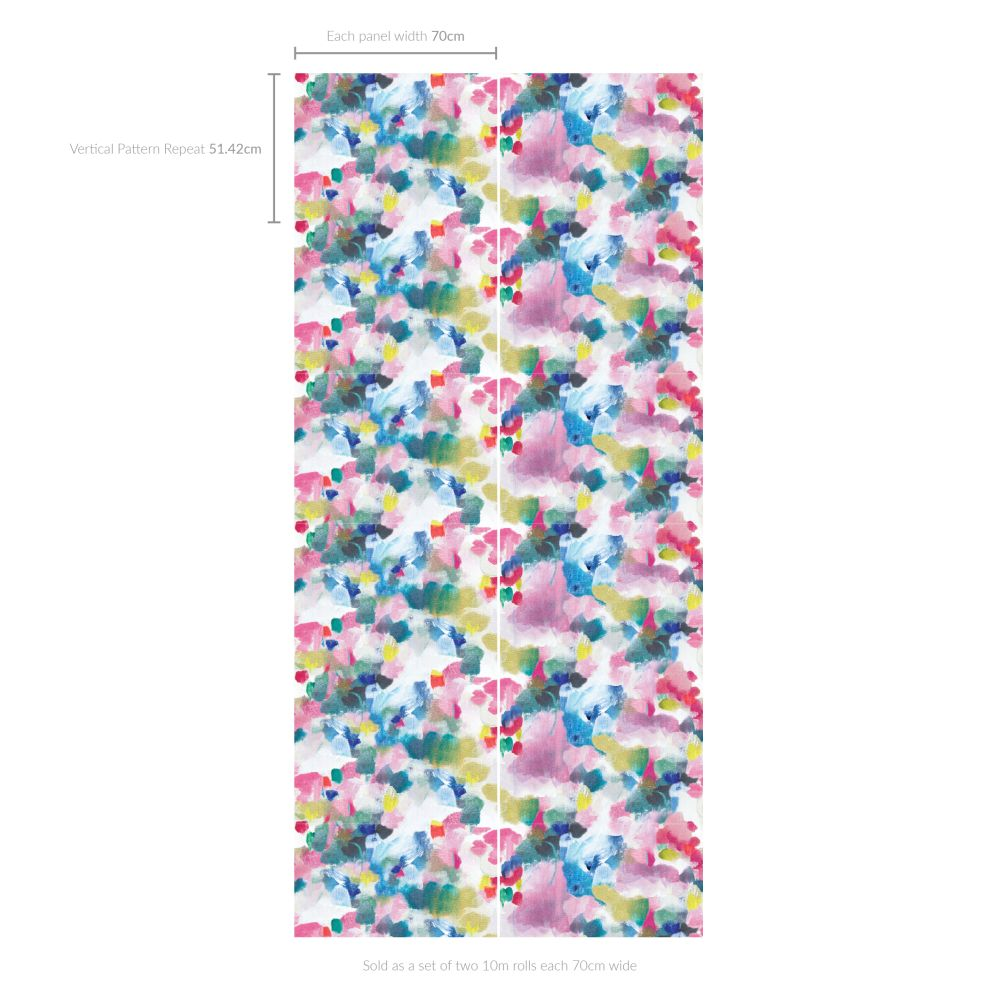 bluebellgray Seafield Multi Wallpaper - Product code: WN022