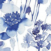 bluebellgray Corran Cornflower Blue Wallpaper