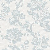The Paper Partnership Elterwater Seafoam / White Wallpaper