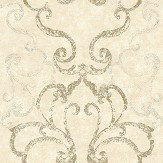 Elizabeth Ockford Ravenglass Cream Wallpaper - Product code: WP0110403
