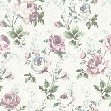 Elizabeth Ockford Ambleside White / Blue Wallpaper - Product code: WP0110903