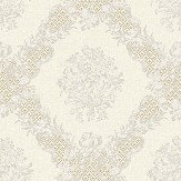 Elizabeth Ockford Rose Castle Cream Wallpaper - Product code: WP0111101