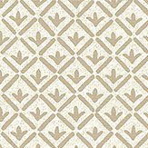 The Paper Partnership Cartmel Cream Wallpaper