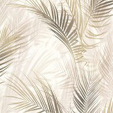 Albany Bamboo Palm Brown Wallpaper