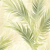 Albany Bamboo Palm Green Wallpaper
