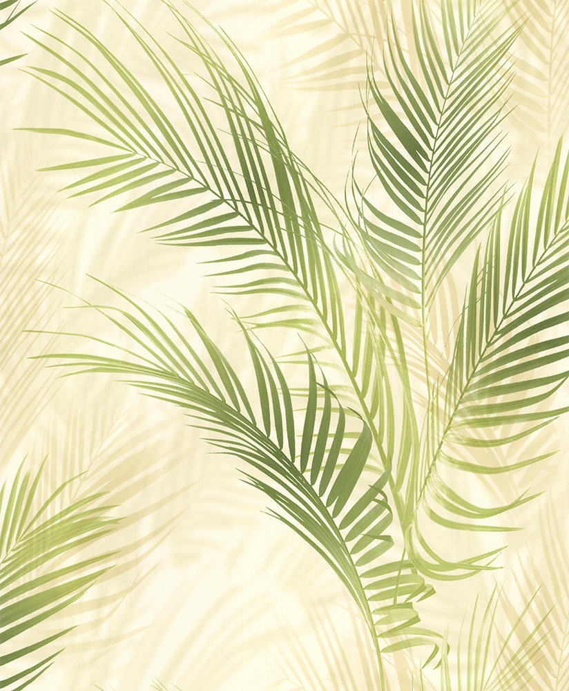 Albany Bamboo Palm Green Wallpaper main image