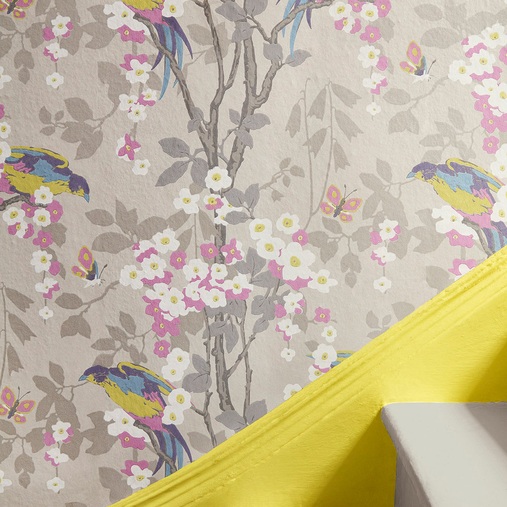 Little Greene Loriini Dorian Wallpaper - Product code: 0291LODORIA