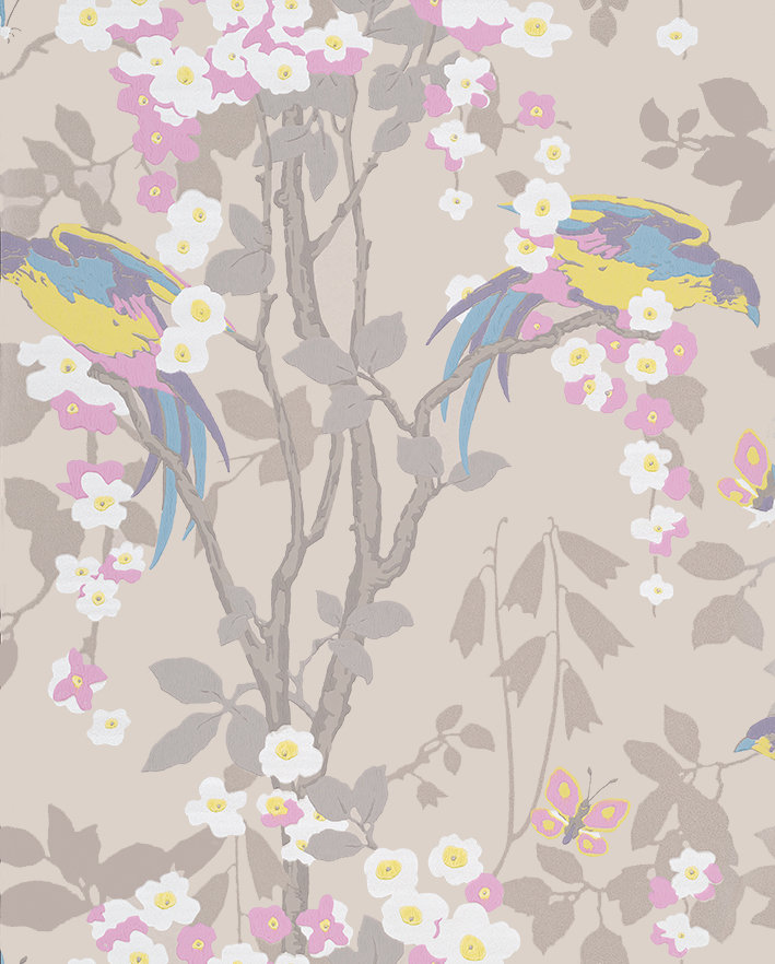 Little Greene Loriini Dorian Wallpaper - Product code: 0291LODORIA