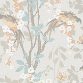 Little Greene Loriini Tuscany Wallpaper