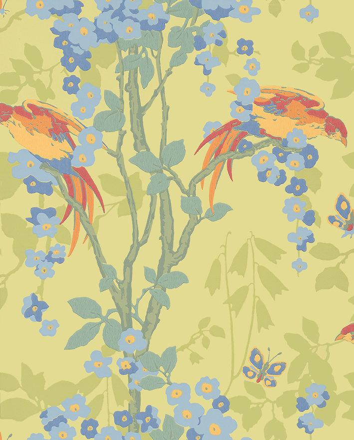 Little Greene Loriini Jasper Wallpaper main image