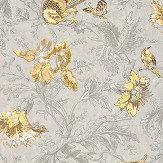 Little Greene Crowe Hall Lane Gilt Wallpaper