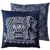Blendworth Ziggy Cushion Forget me not