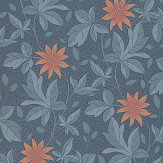 Little Greene Monroe Night Flower Wallpaper - Product code: 0291MONIGHT