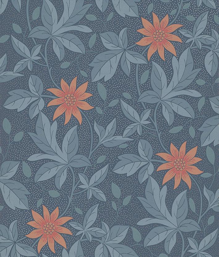 Little Greene Monroe Night Flower Wallpaper - Product code: 0291MONIGHT