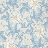 Little Greene Monroe Dawn Flower Wallpaper