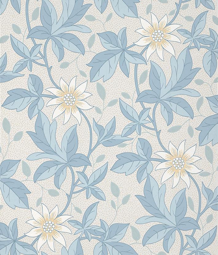 Little Greene Monroe Dawn Flower Wallpaper - Product code: 0291MODAWNZ