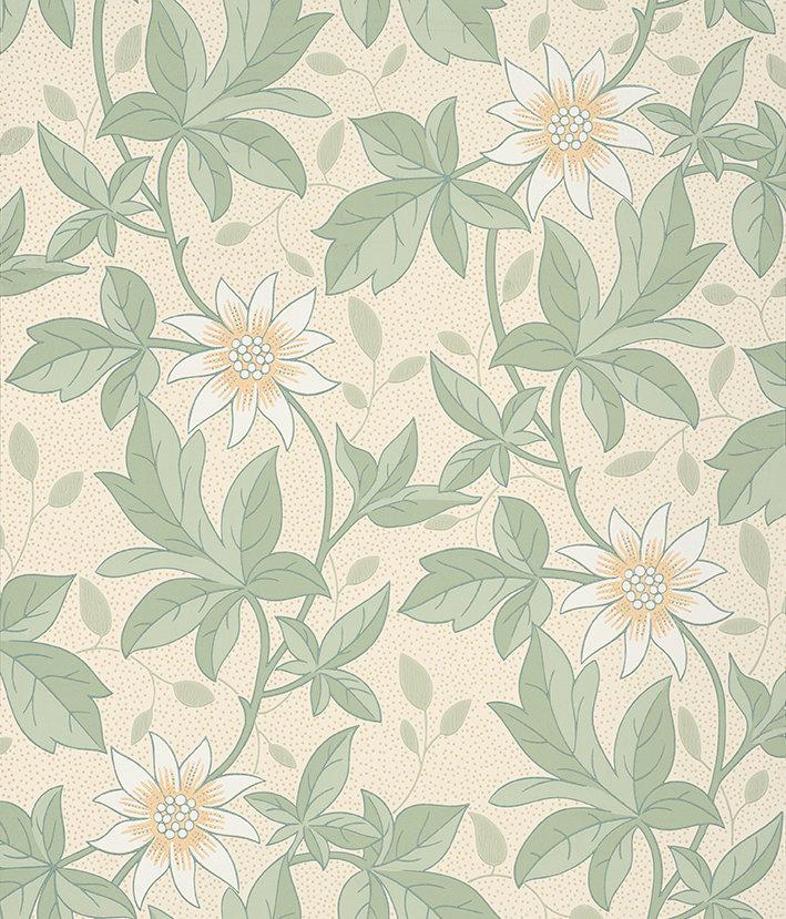 Little Greene Monroe Gold Flower Wallpaper - Product code: 0291MOGOLDZ