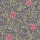 Little Greene Monroe Pink Flower Wallpaper - Product code: 0291MOPINKZ