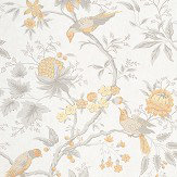 Little Greene Brooke House Cinder Wallpaper