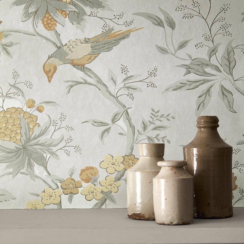 Little Greene Brooke House Cinder Wallpaper - Product code: 0291BRCINDE