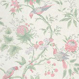 Little Greene Brooke House Linen Wallpaper