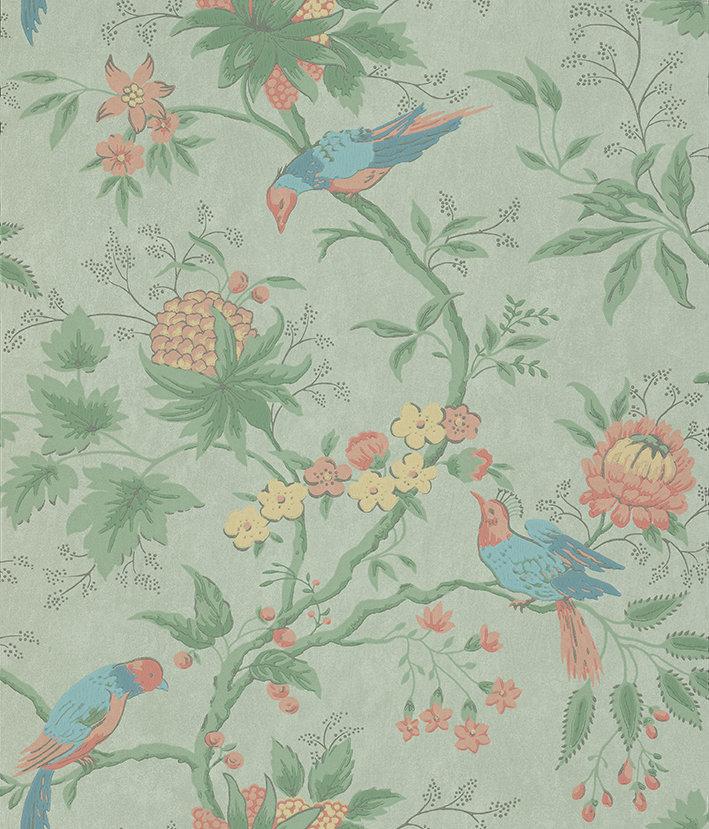 Little Greene Brooke House Silk Wallpaper - Product code: 0291BRSILKZ