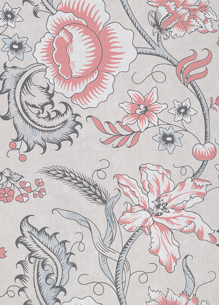 Little Greene Woodblock Trail Union Wallpaper - Product code: 0291WOUNION