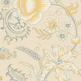 Little Greene Woodblock Trail Claude Wallpaper