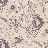 Little Greene Woodblock Mono Knightsbridge Wallpaper