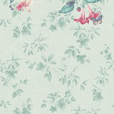Little Greene Asterid mural Island