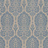 Thibaut Sir Thomas Slate Blue Wallpaper - Product code: T72571