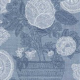 Thibaut Tullamore Blue Wallpaper - Product code: T72592