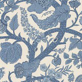 Thibaut Macbeth Blue Wallpaper