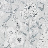 Designers Guild Emilie Platinum Wallpaper