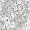 Designers Guild Emilie Silver Wallpaper - Product code: PDG1050/04