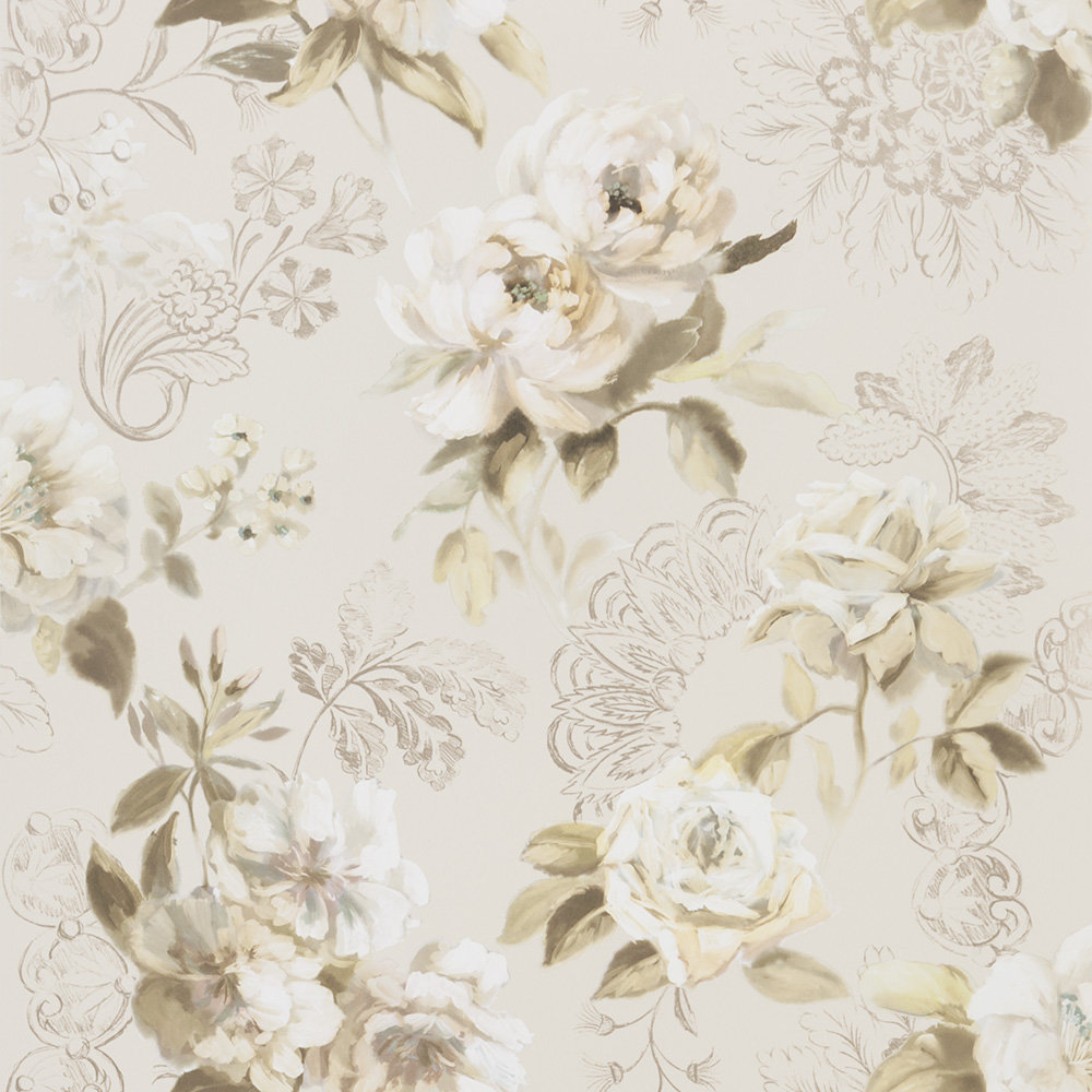 Designers Guild Victorine Pale Birch Wallpaper - Product code: PDG1051/05