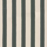 Farrow & Ball Block Print Stripe Studio Green Wallpaper