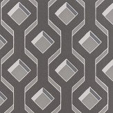Designers Guild Chareau Flock Zinc Wallpaper