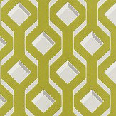 Designers Guild Chareau Flock Chartreuse Wallpaper - Product code: PDG1053/04