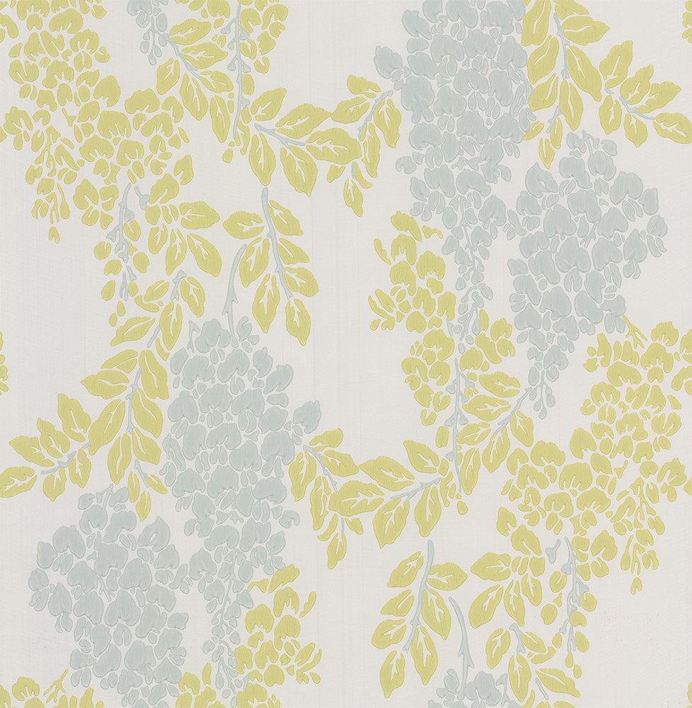 Farrow & Ball Wisteria Light Blue Wallpaper - Product code: BP 2221