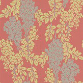 Farrow & Ball Wisteria Red Earth Wallpaper