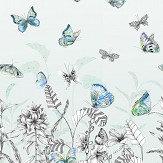 Designers Guild Papillons Eau De Nil Mural