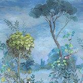 Designers Guild Giardino Segreto Scene 1 Multi Mural