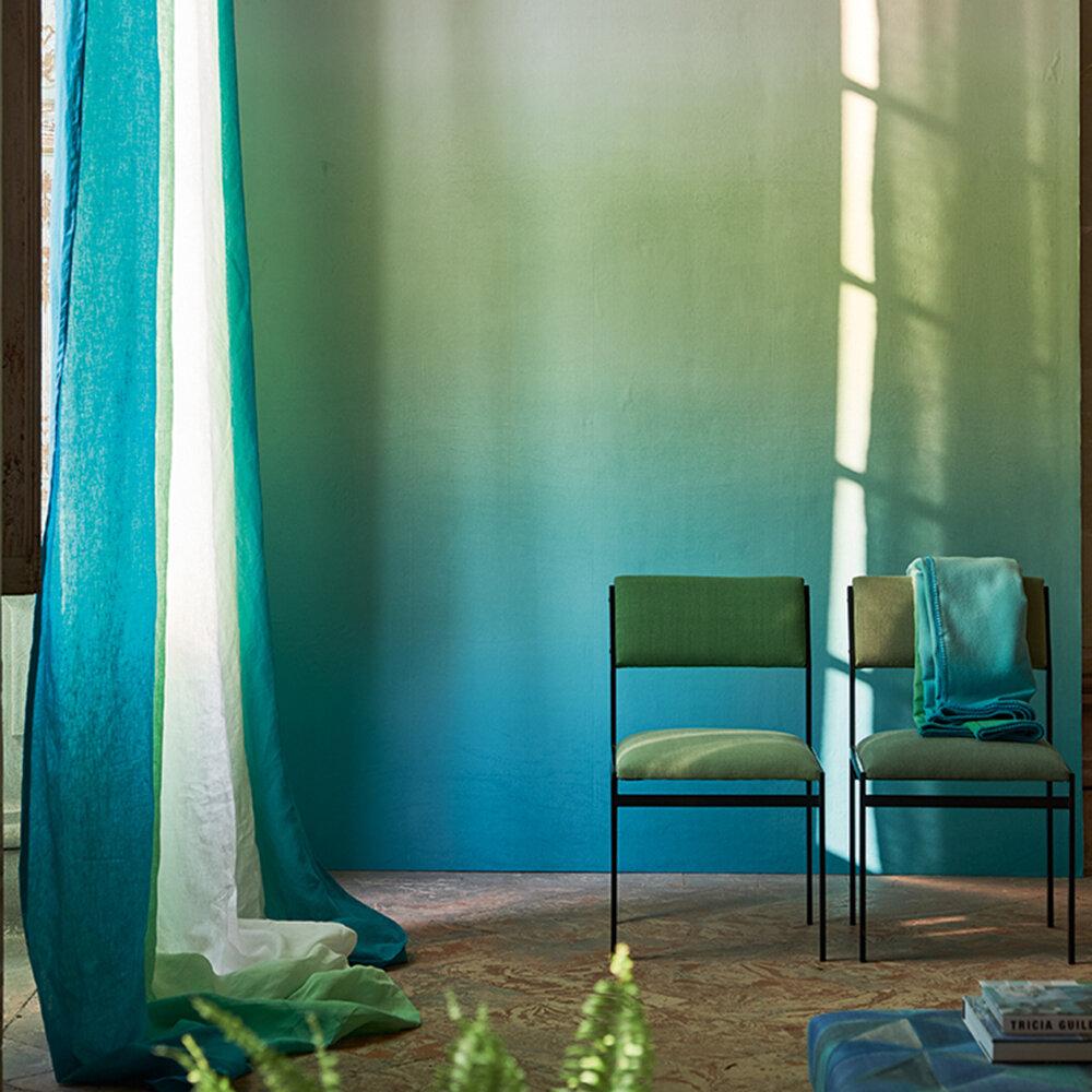 Savoie Mural - Azure - by Designers Guild