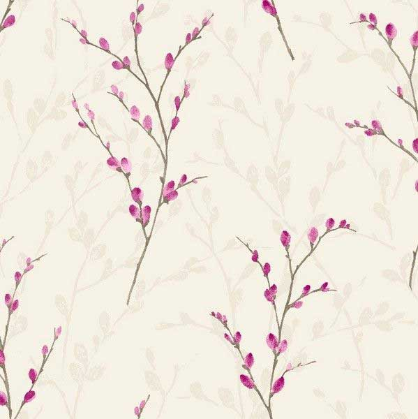 Arthouse Willow Plum Wallpaper - Product code: 615204