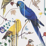 Christian Lacroix Birds Sinfonia White Wallpaper - Product code: PCL7017/02