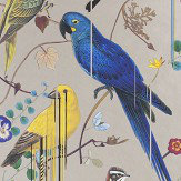 Christian Lacroix Birds Sinfonia Copper Wallpaper - Product code: PCL7017/05