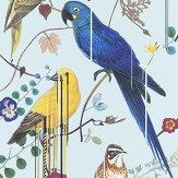 Christian Lacroix Birds Sinfonia Pale Blue Wallpaper - Product code: PCL7017/06