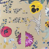 Christian Lacroix Primavera Labyrinthum Metallic Gold Wallpaper - Product code: PCL7018/04